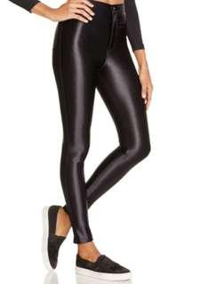 American Apparel Black Disco Pant