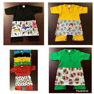 Romper Cartoon(SIZE : 4 Months - 24 Months )