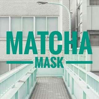 MATCHA MASK (masker wajah homemade)