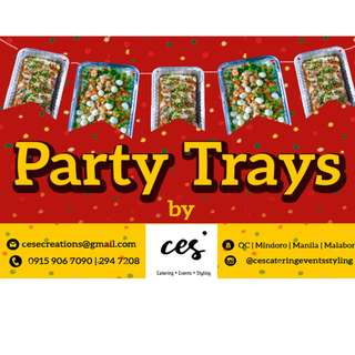 Party Trays by CES'