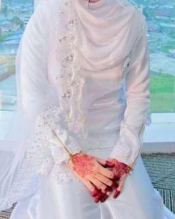 baju nikah (putih)