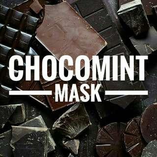 CHOCOMINT MASK (masker wajah homemade)