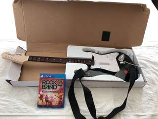 PS4 guitar band