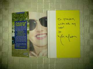 SIGNED! THE UNEXPECTED EVERYTHING BY MORGAN MATSON. YA BOOK ROMANCE