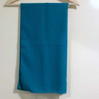 Mimpikita Plain Shawl in Teal