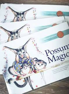 澳洲2017紀念幣/取自於經典童書possum Magic /全新