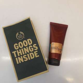 The body shop body clay mask