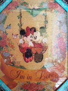 Mickey Mouse Puzzle [HAND PASTED]