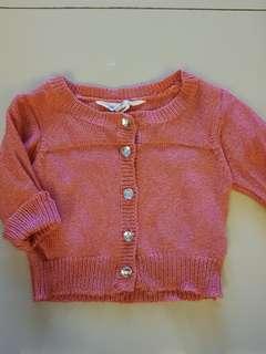 Pumpkin patch Baby Cardigan