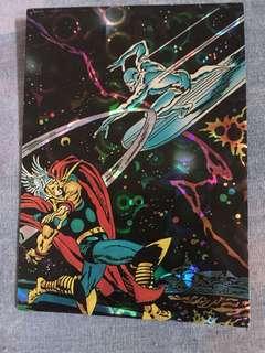 Marvel 1992 silver surfer thor