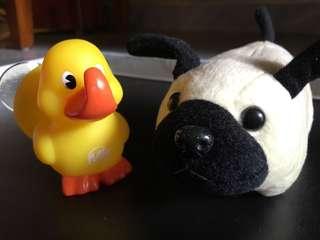 Duckie Hanger & Doggie Coin Box
