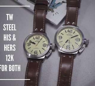 Preloved His & Hers TW Steel