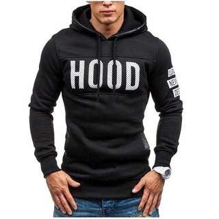 Sweater terbaru pria Hood Zp