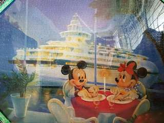 Mickey Mouse Puzzle [HAND PASTED ]
