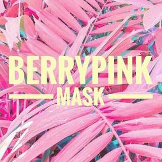 BERRYPINK MASK (masker wajah homemade)