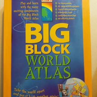 Big Block World Atlas