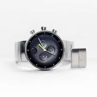 Movado Edge Chronograph Black Dial