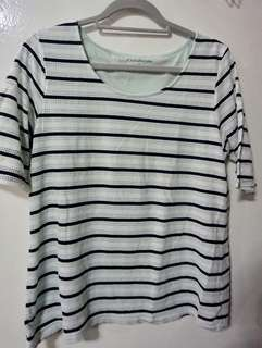 Imported: Stripes Blouse