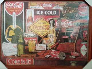 Coca-Cola Puzzle [HAND PASTED ]