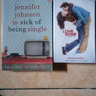 Novel Love rosie/ Jennifer johnson is sick of being single