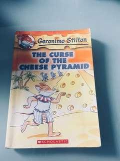 Geronimo Stilton; The Curse Of the Cheese Pyramid