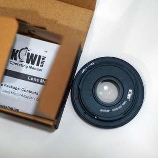 Kiwiphotos FD to EF adaptor