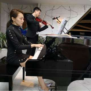 Live music for wedding - Piano & Violin Duet