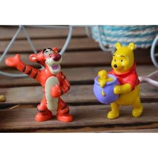Winnie The Pooh & Tigger Set OF 2