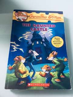 Geronimo Stilton; The haunted castle