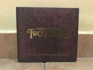 The lord of the rings the two towers special extended edition