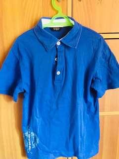 Guess blue shirt xl