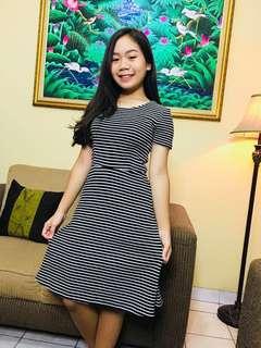 Dress Casual bahan tebal
