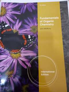 🚚 Fundamentals of Organic Chemistry John McMurry 7th edition International Edition