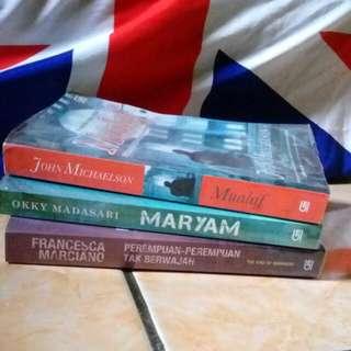Novel Mualaf/ Maryam/ Perempuan Perempuan tak berwajah
