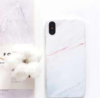 🚚 氣質珊瑚紋 大理石 手機殼 軟殼 iphone殼