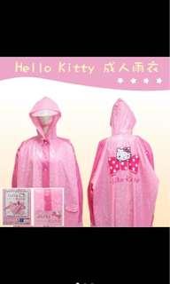正版Hello Kitty雨衣