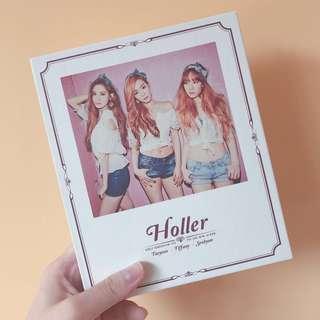 """少女時代TTS 官方 """"Holler""""專輯"""