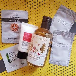 Fragrance and skincare bundle