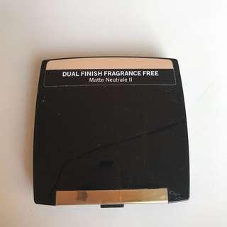 Lancome Dual Finish Fragrance Free, Matte Neutrale II, Sensitive Skin