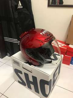 Helmet shoei j force copy