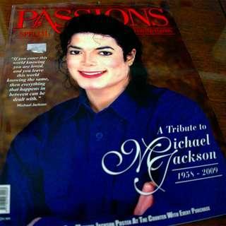 Michael Jackson Passions Collector's Magazine