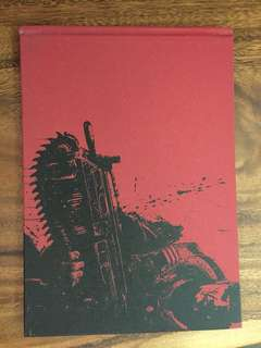 Collectible Gears of War 2 booklet