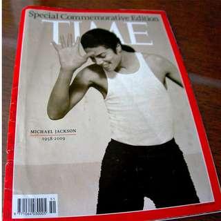 Time Magazine Michael Jackson Special Edition