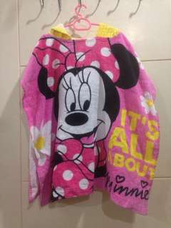 Minnie Mouse Robe Towel