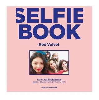 (PO) RED VELVET SELFIE BOOK