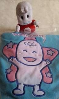 NEW Selimut anak bayi Mamypoko Biru Tebal Pokojang Original