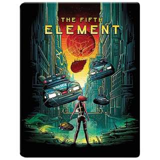 The Fifth Element Steelbook Limited Edtion Blu-ray