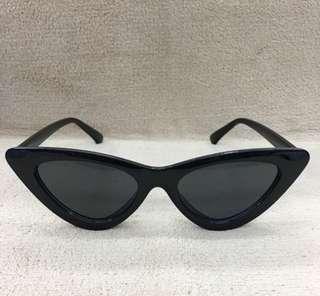 Cat eye sunnies (Black Frame Black lens)