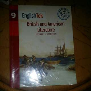 Literature book- grade 9