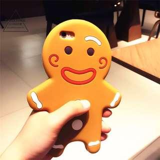 薑餅人iphone6 case